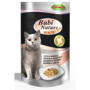 Bubimex Bubi Nature Health Chat Adulte Care Saumon et Maquereau - Sachet