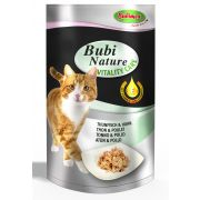 Bubimex Bubi Nature Vitality Care pour chat Thon-Poulet – Sachets