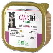 Canichef Bio Volaille Sans Céréales barquette pour chien