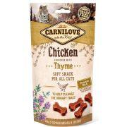 Carnilove Chien Snack Semi-humide Carpe & Thym, sachet de 50 g