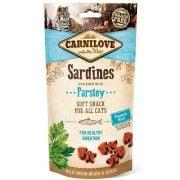 Carnilove Chat Snack Semi-humide Sardine & Persil, sachet de 50 g