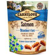 Carnilove Chien Crunchy Snack Saumon & Myrtilles, sachet de 200 g