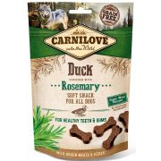 Carnilove Chien Snack Semi-humide Canard & Romarin, sachet de 200 g
