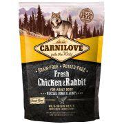 Carnilove Fresh Chien Adult Muscles et Articulations Poulet & Lapin, sac de 1,5 kg
