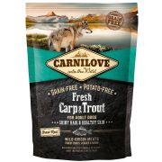 Carnilove Fresh Chien Adult Shiny Hair & Healthy Skin Carpe & Truite, sac de 1,5 kg