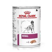 Mousse Royal Canin Veterinary Renal pour chien, boîte 410 g
