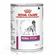 Mousse Royal Canin Veterinary Renal Special pour chien, boîte