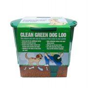Clean Green Dog Loo Conteneur à Crottes