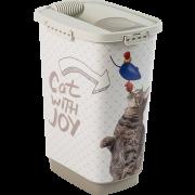 Conteneur à croquettes pour chat Rotho