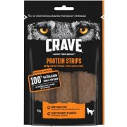 Crave Chien Friandises Protein Strips Poulet & Dinde, sachet vue de dos