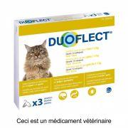 Duoflect Pipettes Antiparasitaires Chat de 1 à 5 kg