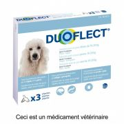 Duoflect Pipettes Antiparasitaires Chien 10 – 20 kg