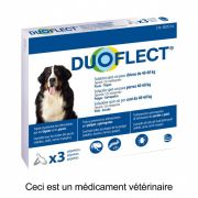 Duoflect Pipettes Antiparasitaires Chien 40 – 60 kg