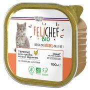 Felichef Bio Volaille Sans Céréales barquette pour chat