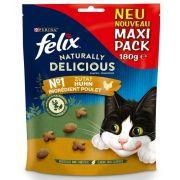 Friandises Felix pour chat au poulet et à l'herbe à chat