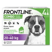 Frontline Combo Pipettes Antiparasitaires Grand Chien