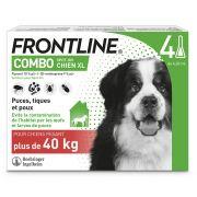 Pipettes antiparasitaires Frontline Combo pour très grand chien