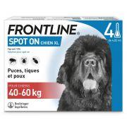 Pipettes antiparasitaires Frontline Spot On pour très grand chien