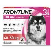 Pipettes antiparasitaires Frontline Tri-Act pour très grand chien