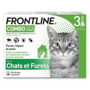 Pipettes Antiparasitaires Frontline Combo pour Chat et Furet
