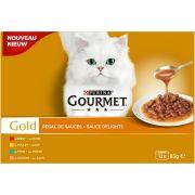 Gourmet Gold Chat - Régal de sauces