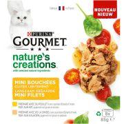 Gourmet Nature's Créations Chat - Poulet & Dinde