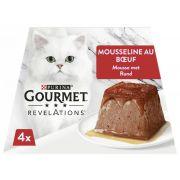Gourmet Revelations mousseline pour chat, au bœuf