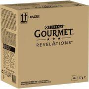 Pack Gourmet Revelations Mousseline au Poulet et Bœuf pour chat