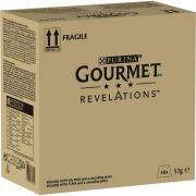 Pack de Mousselines Gourmet Revelations au Thon et Saumon pour chat