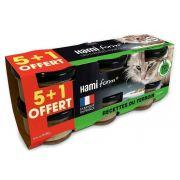 Pack de 6 pâtées Hami Form recette Terroir pour chat