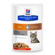 Hill's Prescription Diet Feline K/D + Mobility – Sachets