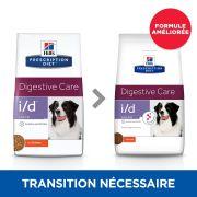 Croquettes Hill's Prescription Diet Canine I/D Low Fat, formule améliorée