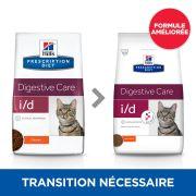Croquettes Hill's Prescription Diet Feline I/D, formule améliorée