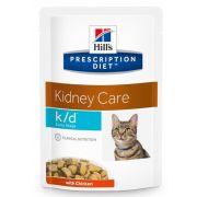 Sachets Hill's Prescription Diet K/D Early Stage Kidney Care, pour chat