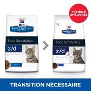 Croquettes Hill's Prescription Diet Feline Z/D, formule améliorée