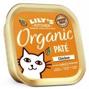 Lily's Kitchen Délice Pâtée Bio Chat Adulte Poulet