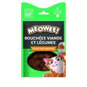 Meowee! Chat Bouchées Poulet Brocoli