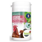 Poudre Naturly's pour l'hygiène intestinale des volailles