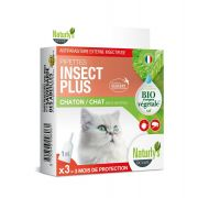 Naturly's Chat/Chaton Pipettes Insect Plus Bio