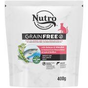 Nutro Grain Free Chat Adulte Saumon Poissons Blancs