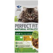 Sachets Perfect Fit Natural Vitality au poulet et à la dinde, pour chat stérilisé