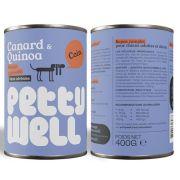 Petty Well Chien Pâtée Canard