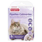Pipettes pour chat anti-stress et calmantes