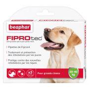 Pipettes pour chien anti-puces et anti-tiques FIPROtec