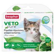 Pipettes pour chaton répulsives antiparasitaires