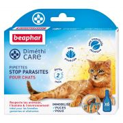 Pipettes pour chat antiparasitaires