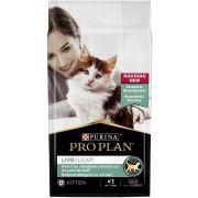 Croquettes Proplan Liveclear pour chaton, à la dinde
