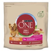 Croquettes Purina One pour petit chien, Peau Saine & Pelage Soyeux