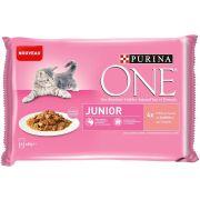 Purina One Chat Junior Saumon