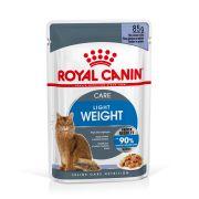 Royal Canin Sachets Light Weight Care, sachet de 85 g en gelée
